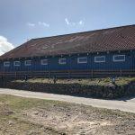 Sanitärgebäude auf dem Campingplatz Westerland auf Sylt