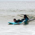 Das Surfhouse Sylt auf dem Campingplatz Westerland