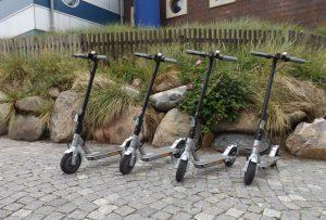 E-Scooter auf dem Campingplatz Westerland auf Sylt mieten